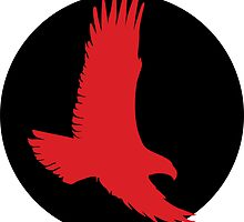 Red Hawk Roundel by spackletoe