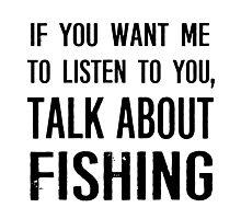 Rude Fishing Shirt Photographic Print