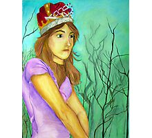 Princess Lost Photographic Print