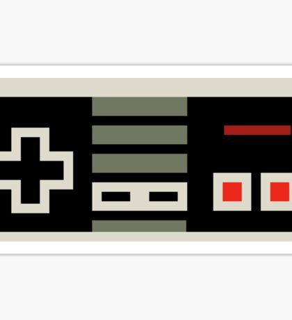 8 bit NES controller Sticker