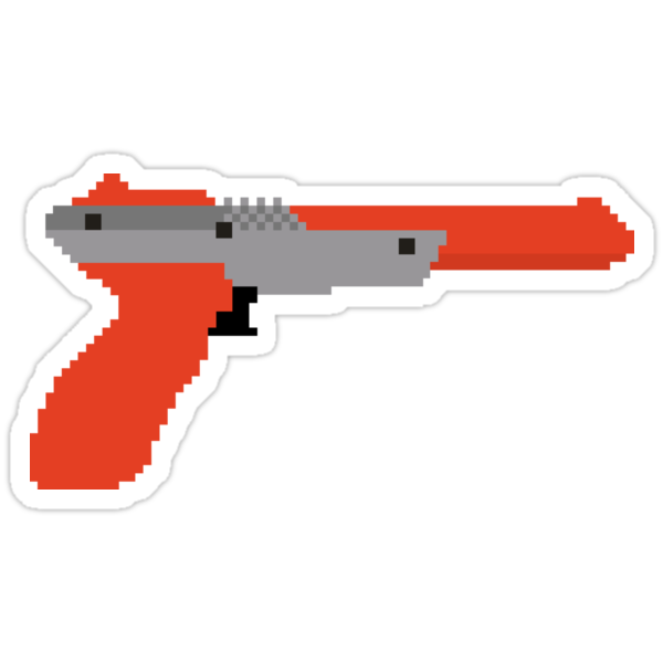 8 bit zapper by PlatinumBastard