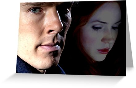 Sherlock and Amy  by drawingdream