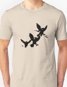 Pidgey Evolutions--Silhouettes T-Shirt