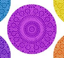 seven chakras circle Sticker