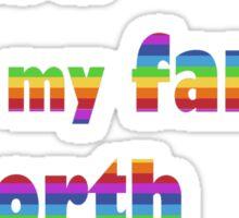 Penny Wong qanda quote Sticker