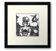 Lonely Planet Framed Print