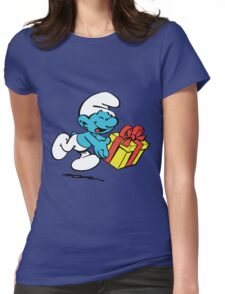 smurf_box Womens Fitted T-Shirt