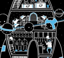 Interstellar Travels - Sticker Sticker