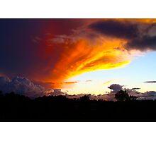 Honduran Sunset Photographic Print