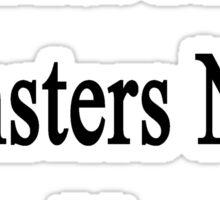 Trust Me Hamsters Need Us Sticker
