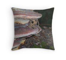 Fungi today tomorrow the world Throw Pillow