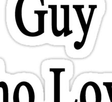 I'm That Hot Guy Who Loves Art Sticker