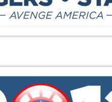 Vote Rogers & Stark 2012 (Sticker 2-Pack) Sticker