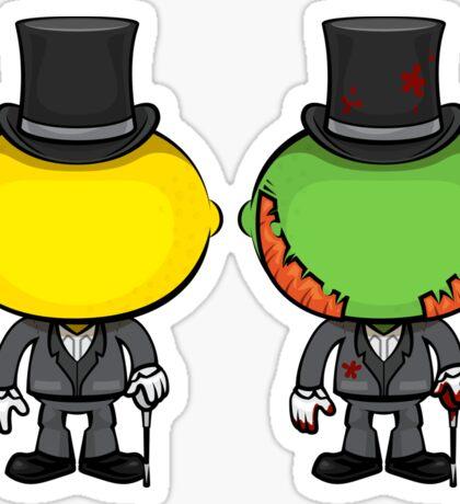 Dr. Lemon & Mr. Lime Sticker