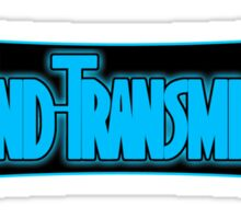End Transmission Games Logo Sticker