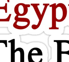 Egypt Is The Best Sticker