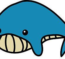 Blue Sei Whale by ArtFr33k