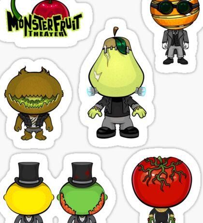 MonsterFruit Theater Small Sticker Sheet 1 Sticker