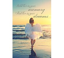 Hold Her In Your Memory Photographic Print