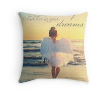 Hold Her In Your Memory Throw Pillow