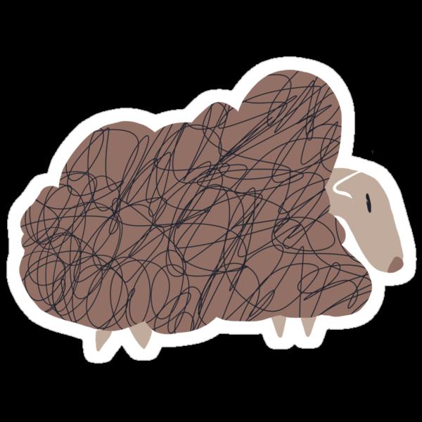 Sheep by imbusymycroft