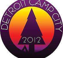 DCC4 - Detroit Camp City by Qualia Vector Lab