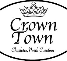 Crown Town, Charlotte, North Carolina by Gina Mieczkowski