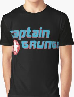 Captain Grunge MUSIC Graphic T-Shirt