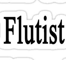 I'm The Coolest Flutist You'll Ever Meet Sticker