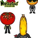 MonsterFruit Theater Large Sticker Sheet 2 by Allison Bair