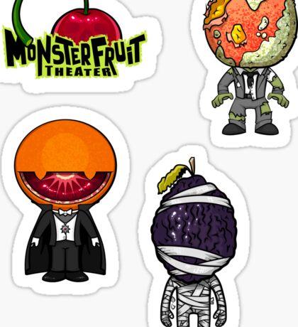 MonsterFruit Theater Large Sticker Sheet 3 Sticker