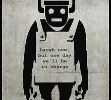 Invasion Of The Cybermonkeys! by strictlychem