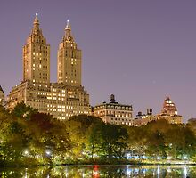 San Remo at Night, Central Park, Study 1 by Randy  LeMoine