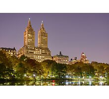 San Remo at Night, Central Park, Study 1 Photographic Print