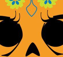 Dia De Los Muertos ~ Skull Sticker Sticker