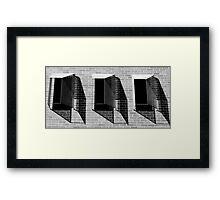 Window Pattern  Framed Print