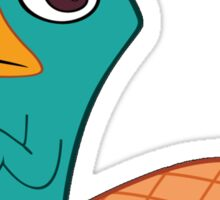 Perry The Platypus Sticker