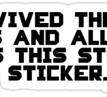 Stupid Sticker Sticker
