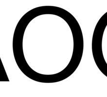 AOG Sticker