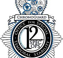 Chronoguard (Sticker) by OneShoeOff