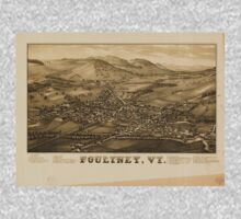 Panoramic Maps Poultney Vt One Piece - Long Sleeve