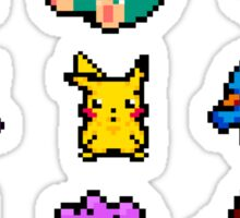 Pixel Pokemon sticker pack Sticker