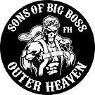FOXHOUND Original (Sticker) by BiggStankDogg