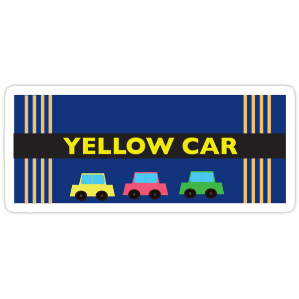Yellow Car by ForeignType
