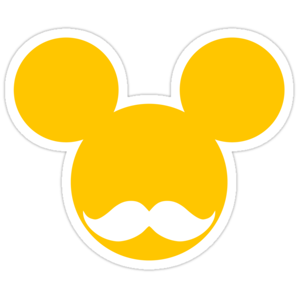 Moustache Mickey Mouse by stabilitees