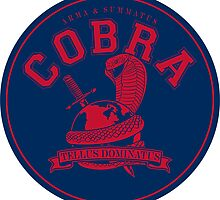 COBRA MARINE CORP STICKER by CaptZ