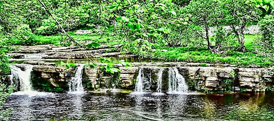 River Swale - Keld by Trevor Kersley