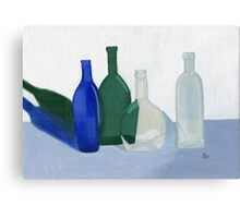 Still Life - Bottles Canvas Print
