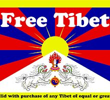 Free Tibet* by Tunic