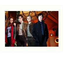 Team TARDIS Art Print